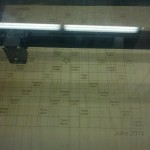 In the lasercutter