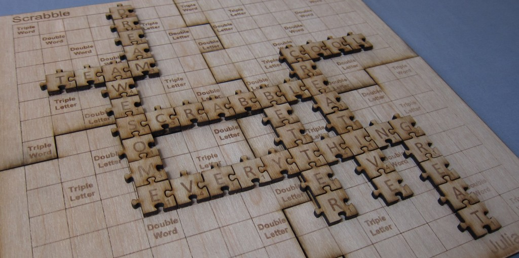 Make your own Scrabble – DIY Scrabble