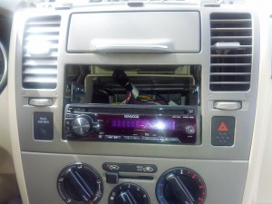 The new radio leaves room for the electronics