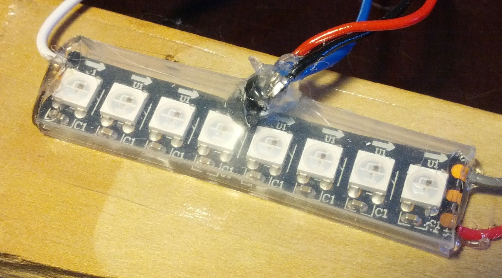 Temperature 144 led/m Neopixel WS2812 | Only some projects
